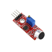 QHGstore MAX9812 Microphone Amplifier Module Red