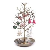 Corasays Birds Tree Jewellery Stand Rack Display Earring Necklace Bracelet Holder Jewellery Organiser Storage