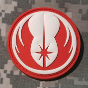 Star Wars Jedi Order Galactic Republic Patch - PVC Morale Patch, Hook and loop Backed Morale Patch, Star Wars Morale Patch by NEO Tactical Gear