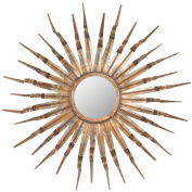 Safavieh Home Collection Sun Mirror, 33.1 by 9.9cm by 80cm , Copper