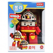 ROBOCAR POLI ROY Transforming robot Transformable transformer TOY NEW