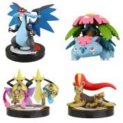 Takara Tomy Pokemon XY 1/40 Scale Real Pokémon Figure 03 Set of 4