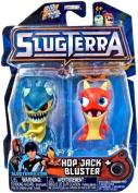 Slugterra SERIES 3 Mini Figure 2-Pack Hop Jack & Bluster [Includes Code for Exclusive Game Items]