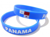 Unisex Country National Flag Silicone Rubber Bracelet Fashion Wristband Cuff