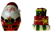 Santa and Gifts Salt and Pepper Shakers