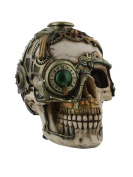 Anne Stokes Steampunk Skull Candle Holder 16.5cm