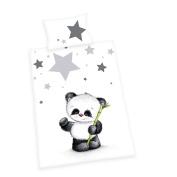 Baby Best Jana Panda Bed Linen, Cotton, Multi-Colour