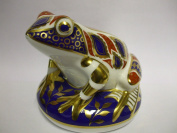 Royal Crown Derby FROG TOAD Paperweight