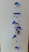 dolphin wind chime mobile