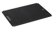 Lurch 41 x 29 cm 1-Piece Flexi Form Pyramid Mat, Black