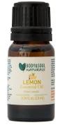 Body & Soul Naturals Lemon 100% Pure Essential Oil, Therapeutic Grade 0.34 fl. Oz