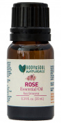 Body and Soul Naturals Rose 100% Pure Therapeutic Grade Essential Oil 0.34 fl. Oz.