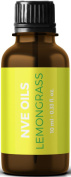 Buy Pure Lemongrass Essential Oil By NVE Oils - 100% Authentic and Therapeutic Grade .  doTERRA, Young Living, Edens Garden)