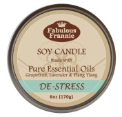 De-Stress 100% Pure & Natural Soy Candle 180ml