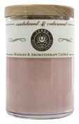 Terra Essential Scents - Massage & Aromatherapy Soy Candle Sandalwood & Cedarwood - 70ml