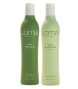 Loma Organics Daily Shampoo & Conditioner 350ml Combo by Loma