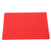 Vinkoe Kitchen Pyramid Pan Silicone Baking Mat Oven Cooking Mat Heat Resistant Mat Kitchen Tools