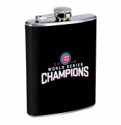 Chicago Champs 240ml Stainless Steel Flask Drinking Whiskey