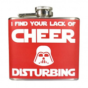 I Find Your Lack of Cheer Disturbing Ugly Christmas 150ml Stainless Steel Flask