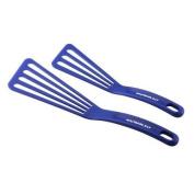 New Rachael Ray Tools 2-Piece Nylon Turner Set, Blue