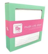 Cassidee's Cradle Muslin Cotton Crib Sheet