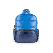 7AM Enfant Brooklyn Bag, Cobalt/Navy