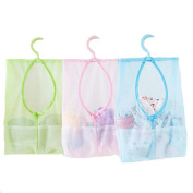 HENGSONG Bathroom Household Hanging Storage Clothespin Bags Organisers