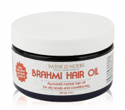 Brahmi Oil - Ayurvedic Hair Growth Oil - With Saffron