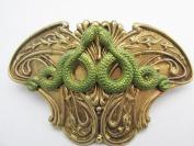 Snake Hair Clip Art Nouveau serpent Hair barrettes Angelina Verbuni Designs Unique Hair Clips
