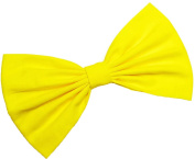 Bright Yellow Hair Bow Clip Hair Accessory Handmade by Sweet in the City