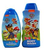 Paw Patrol 2 in 1 Shampoo and Body Wash Bundle