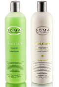 Soma Moisture Shampoo & Conditioner 470ml Set Duo