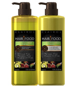 Clairol Hair Food Volume Shampoo & Conditioner Set Infused With Kiwi Fragrance, 530ml