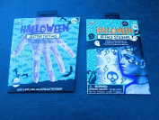 Halloween silver Glitter body Tattoos