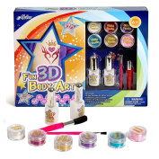 Washable Fun 3D Shimmer N' Sparkle Body Art