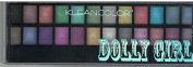 Kleancolor Dolly Girl eyeshadow palette 01 Bubbly