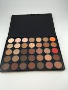 2016 New Fashion 35 Colour Eyeshadow Palette Earth Warm Colour Shimmer Matte Beauty Makeup Set Smoky Eye-shadow