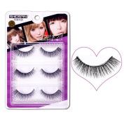 Baomabao 3D Natural Makeup Fake Eye Lashes Thick False Eyelashes SHIDSPIN3D-03