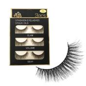 Baomabao 3D Makeup Long Fake Eye Lashes Handmade Thick False Eyelashes SHIDSPIN3D-X03