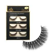 Baomabao 3D Makeup Long Fake Eye Lashes Handmade Thick False Eyelashes SHIDSPIN3D-X06