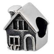 House Charm Original 100% Authentic 925 Sterling Silver Fimaly Home Beads Charm fit for Pandora Charms Bracelets