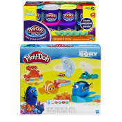 Play-Doh Disney / Pixar Finding Dory Play Set + Play-Doh Plus Compound Bundle