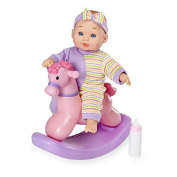 You & Me 20cm Mini Baby Doll with Rocking Horse by Toys R Us