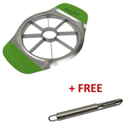 Gregory Joseph Home Stainless Steel Apple Slicer and Corer with Free Peeler