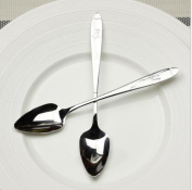 2 Pieces Stainless Steel Grapefruit Serrated Edge Spoon