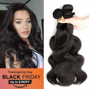 8A Grade Brazilian Body Wave Hair 3 Bundles 7.6cm x 36cm Natural Colour Brazilian Remy Vigin Human Hair Weave Wefts Extensions 300g