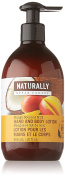 Upper Canada Soap Naturally Nourishing Hand and Body Lotion, Mango Coconut Milk, 12 Fluid Ounce