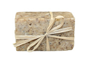 Skinny & Co. Coconut Oil 120ml Handcrafted Raw Soap Bar - Coffee