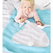 Kocome Baby Kids Rabbit Blanket Newborn Infant Cotton Swaddle Bedspread Towels Bath Mat