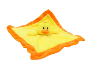 Lovey Security Blanket by Baberoo - 30cm Square Stuffed Animal Baby Blankie Premium Quality Design for Girls or Boys